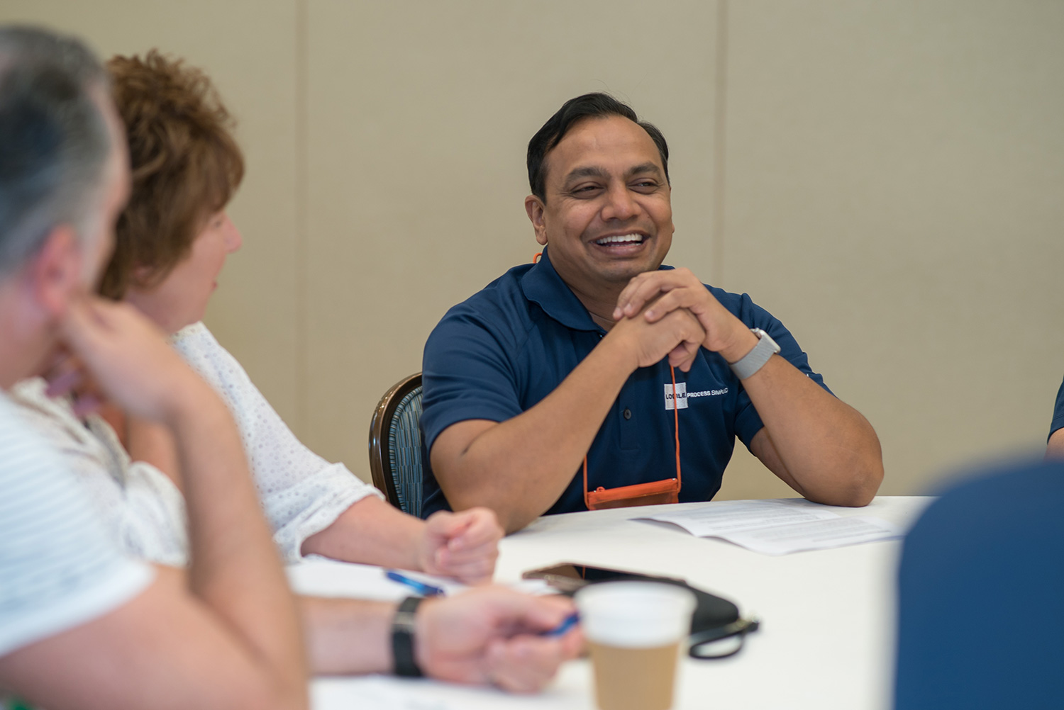 Sushil Pulikkal of Logile discusses Logile solution development with Simplify attendees